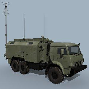 command post iskander 3D model