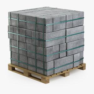 3D pallet blocks