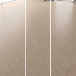 parquet oak tundra brushed 3D model