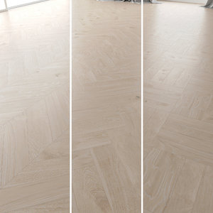 3D parquet oak arctic new model
