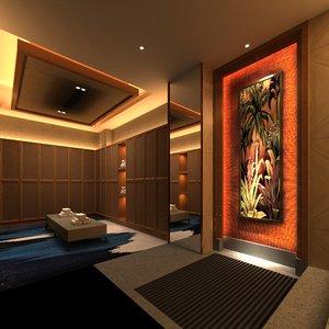 3D massage sauna