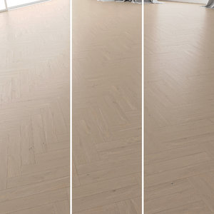 parquet oak tundra brushed 3D