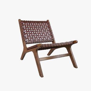 chair modelling 3D model