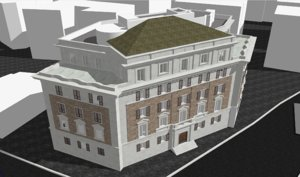 building rome italy 3D model