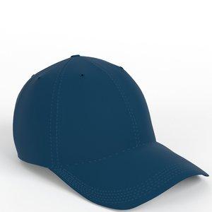3D baseball hat
