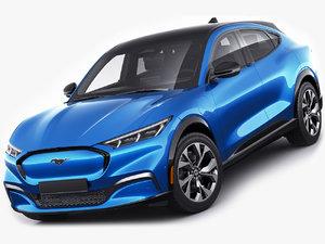 mustang mach-e 2021 model