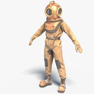 3D diver suit
