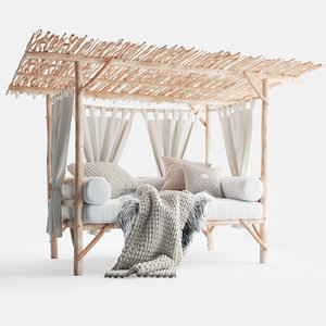 serengeti daybed 3D model