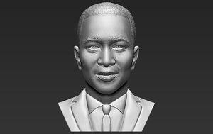 john legend bust printing 3D