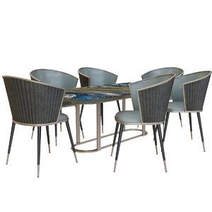 dining modern 3D model