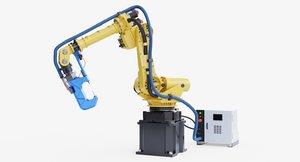 3D fanuc r-2000ia200f rj3ib welding model