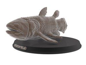 3D print coelacanth