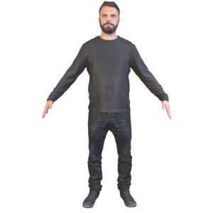 man t pose 3D model