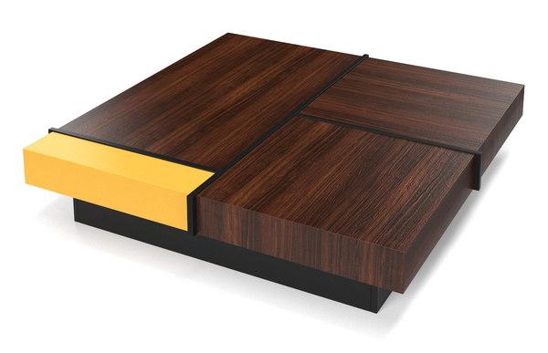 3d Arthur Roche Bobois Coffee Table Model Turbosquid 1570242