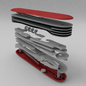 swiss pocket knife model