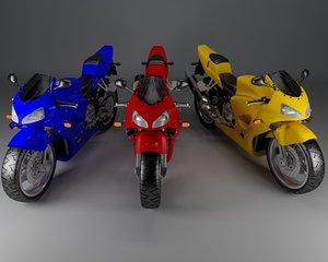 3D motorcycle vehicle motorbike model