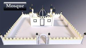 3D islamic mosque
