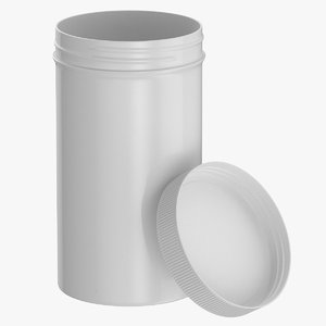 plastic jar wide mouth model