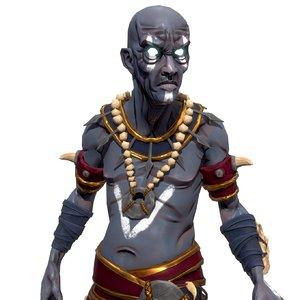 shaman character 3D