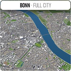 3D city bonn - model