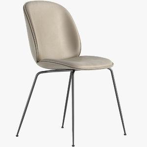 beetle chair gubi 3D model
