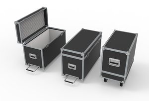 3D case flightcases