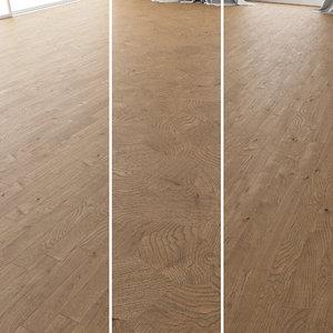 3D parquet oak estate new
