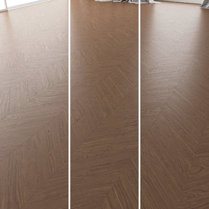 parquet oak black walnut model