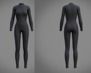 3D fashion swimsuit clothing