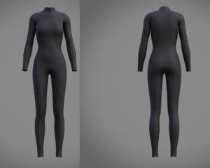 3D fashion swimsuit clothing