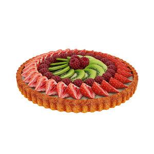 tart fruit berry model