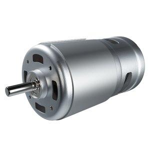 3D dc motor industrial model