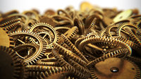 Assortment of 21 Brass Cogs