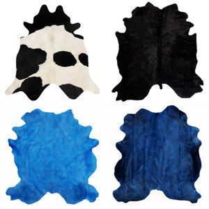 3D model carpets rug cow skin