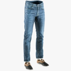realistic men s pants 3D model