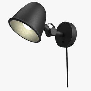 3D modern wall night lamp lights