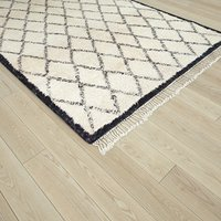 Moroccan Beni Ouarain rug 3D model