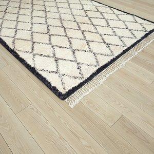 beni ouarain carpet morocco rug model