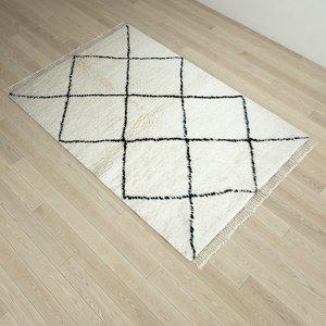 3D beni carpet berber morocco rug model