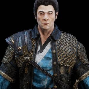 commander korean 3D model