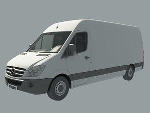 van 2009 3D model