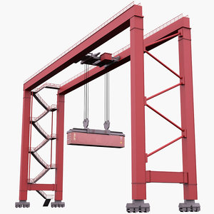 crane industrial construction 3D model
