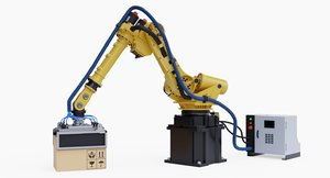fanuc r-2000ia200f rj3ib gipper 3D