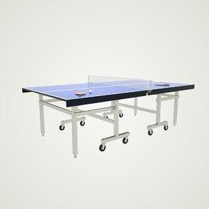 3D table octane model