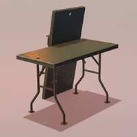 LowPoly Military Table