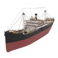 Laker Cargo Steamer
