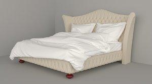 cis salotti dream bed 3D