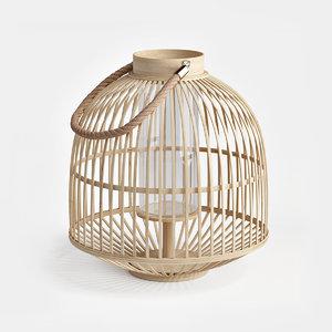 3D bamboo lanterns