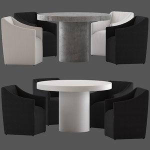 coco republic avalon dining chair model