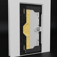 Sci-fi Slider Door